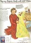 Lux Flakes Soap - Barbara Stanwyck Ad Sheet