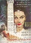 Caesar & Cleopatra -vivien Leigh - C.rains Ad