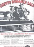 "Chevrolet's ""bonanza"" Ad Sheet"