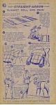 1950 Nabisco Shredded Wheat Collector Card