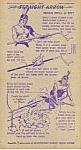 1949 Nabisco Shredded Wheat Collector Card