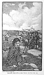 C.1900 Elizabeth Shippen Green Mag. Print: Girl