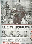 1956 Tennessee Earnie Ford - Chase & Sanborn