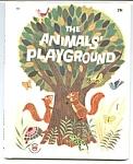 Animals' Playground Wonder Book #825