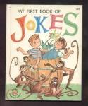 My First Book Of Jokes-wonder Book-1962