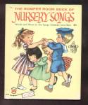 Romper Room Book Of Nursery Songs - Wonder Book