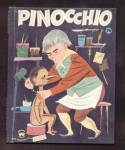 Pinocchio - Wonder Book - 1954