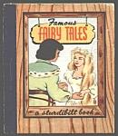 Famous Fairy Tales Sturdibilt Book - 1945