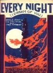 Very Night (I Dream Of You) - Sheet Music
