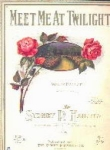 Meet Me At Twilight - Sheet Music