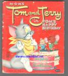 Tom And Jerry In Toms Happy Birthday Tell-a-tale Book