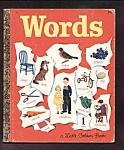 Golden Book Of Words #45 Scarce 1948