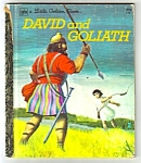 David And Goliath Little Golden Book