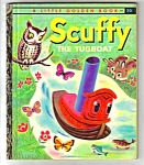 Scuffy The Tugboat Little Golden Book