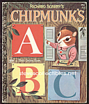 Richard Scarry Chipmunks Abc - Little Golden Book