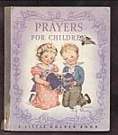 Prayers For Children - Little Golden Book - 1945