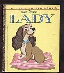 Walt Disney Lady - Little Golden Book