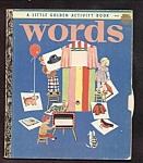 Words - Little Golden Activity Book