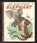 The Saggy Baggy Elephant - Little Golden Book