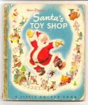 Disney Santa Toy Shop Little Golden Book