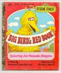Big Birds Red Book - Little Golden Book - Muppets