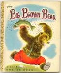 Big Brown Bear - Little Golden Book