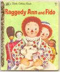 Raggedy Ann And Fido - Little Golden Book
