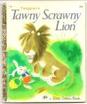 Tenggrens Tawny Scrawny Lion Little Golden Book