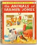 Animals Of Farmer Jones Little Golden Book - Scarry