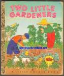 Two Little Gardeners Little Golden Book - 1951