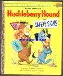 Huckleberry Hound Safety Signs - Little Golden Book