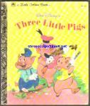Disney Three Little Pigs Little Golden Book