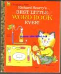 Richard Scarrys Best Little Word Little Golden Book