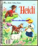 Heidi - Little Golden Book - Malvern