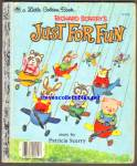 Just For Fun - Little Golden Book - Scarry