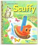 Scuffy The Tugboat - Little Golden Book