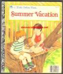 Summer Vacation - Little Golden Book