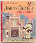 Jiminy Cricket Fire Fighter-disney-mickey Mouse Club Bk