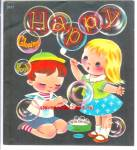 Happy Coloring Book - The Cutest From 1958