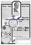 1919 Santa Fe-illinois Pocket Watches Ad