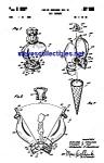 Patent Art: 1960s Mattel Liddle Kiddles Doll Holder