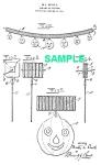 Patent Art: 1910s Beistle Jackolantern Halloween-matted