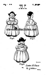 Patent Art: 1940s Ludowicki Celadon Dutch Girl - Matted