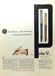 1952 Parker 51 Pen Color Ad
