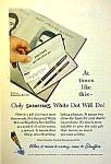 1957 Sheaffer Snorkel Pen/pencil Set Ad