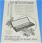 1924 Wahl Fountain Pen/pencil Christmas Ad