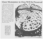 1939 Mt. Palomar Cal. Telescope Lense Article