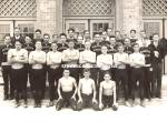 Early Shirtless Young Male Team Photo - Gay Interest
