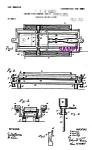 Patent Art: Early 1900s Kampfe Razor Strop - Matted