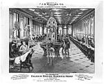 Victorian Williams Shaving Soap Barber Shop Adv. Print